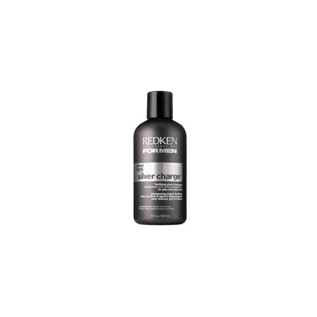 Redken - Shampooing homme , Silver chargeCheveux blancs 300ml