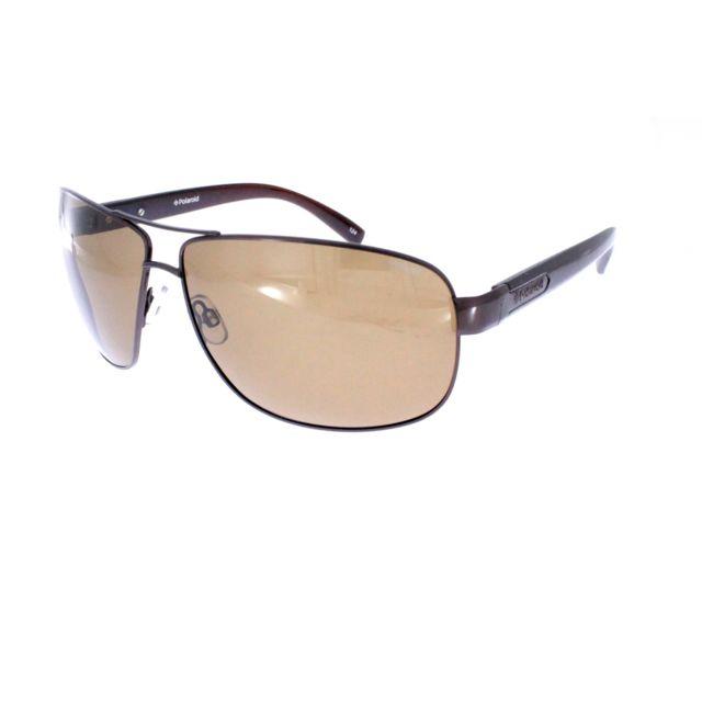 Polaroid - 4219 09Q Brown - Lunettes de soleil homme - pas cher Achat   Vente  Lunettes Tendance - RueDuCommerce 21e1e41a652c