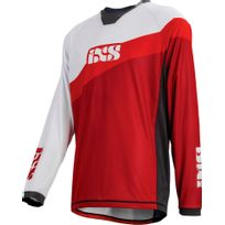 Ixs - Race 7.1 Dh - Maillot manches longues - rouge/blanc