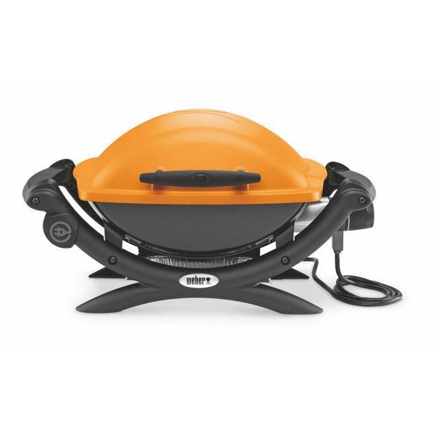 Alinéa - Q1400 Barbecue électrique Weber Q1400 orange - pas cher ...