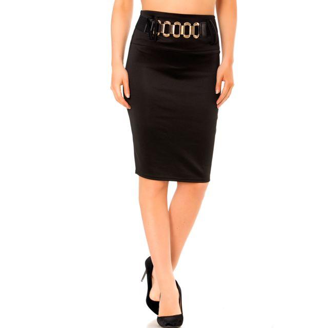 Grossiste en ligne Magnifique jupe crayon noire taille