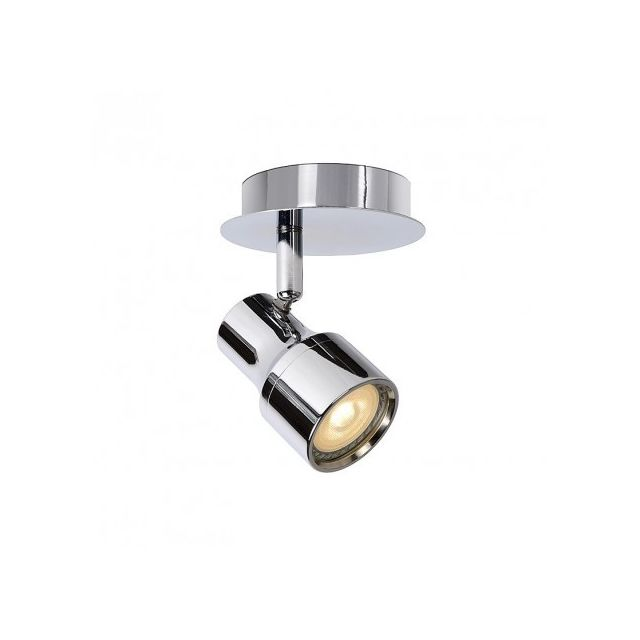 Lucide Spot Gu10 Led Sirene Ip44 D10 cm - Chrome