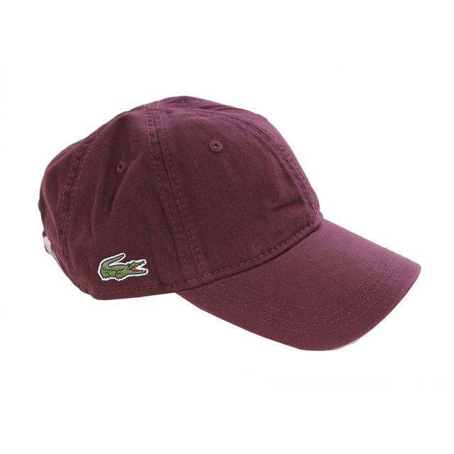 1925a7441b Lacoste - Homme - Casquette baseball vendange small Croco Rk9811 - pas cher  Achat / Vente Casquettes, bonnets, chapeaux - RueDuCommerce