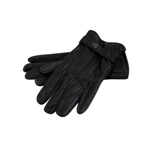 site réputé complet dans les spécifications chaussures classiques Paire de gants en cuir noir homme doublés Taille 7 8 9 10 Taille - 7