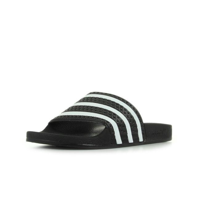 91cb6e318d670 Adidas originals - Adilette Noir, Blanc - 46 - pas cher Achat ...