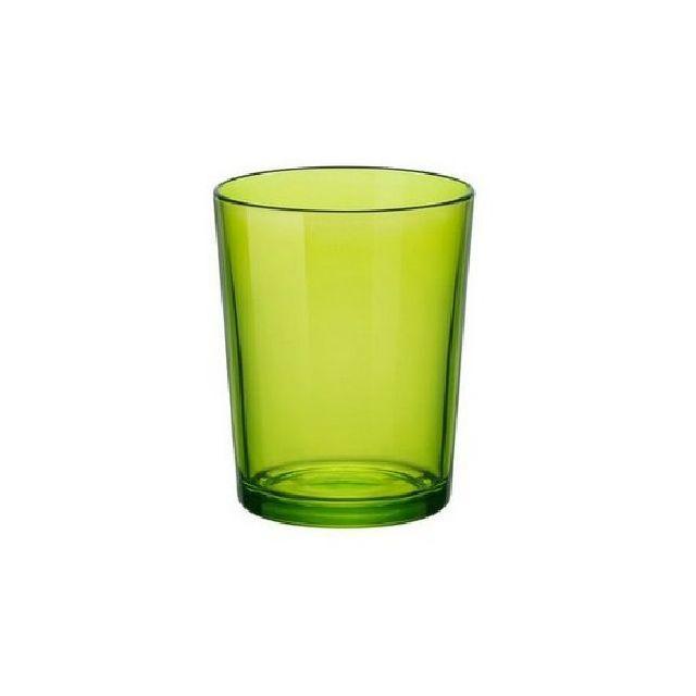 1001DECOTABLE Verre gobelet vert anis