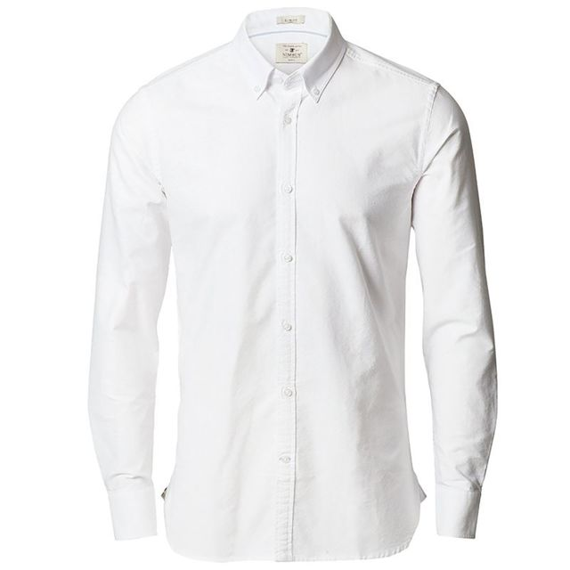 Nimbus Rochester - Chemise coupe ajustée - Homme 3XL, Blanc Utrw5439