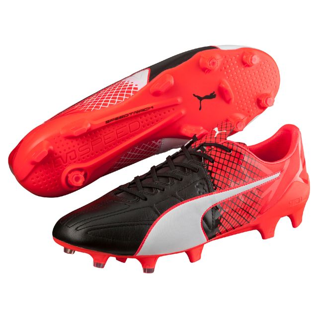 hot sale online 5f848 18196 Puma - Chaussures evoSpeed 1.5 Leather Fg