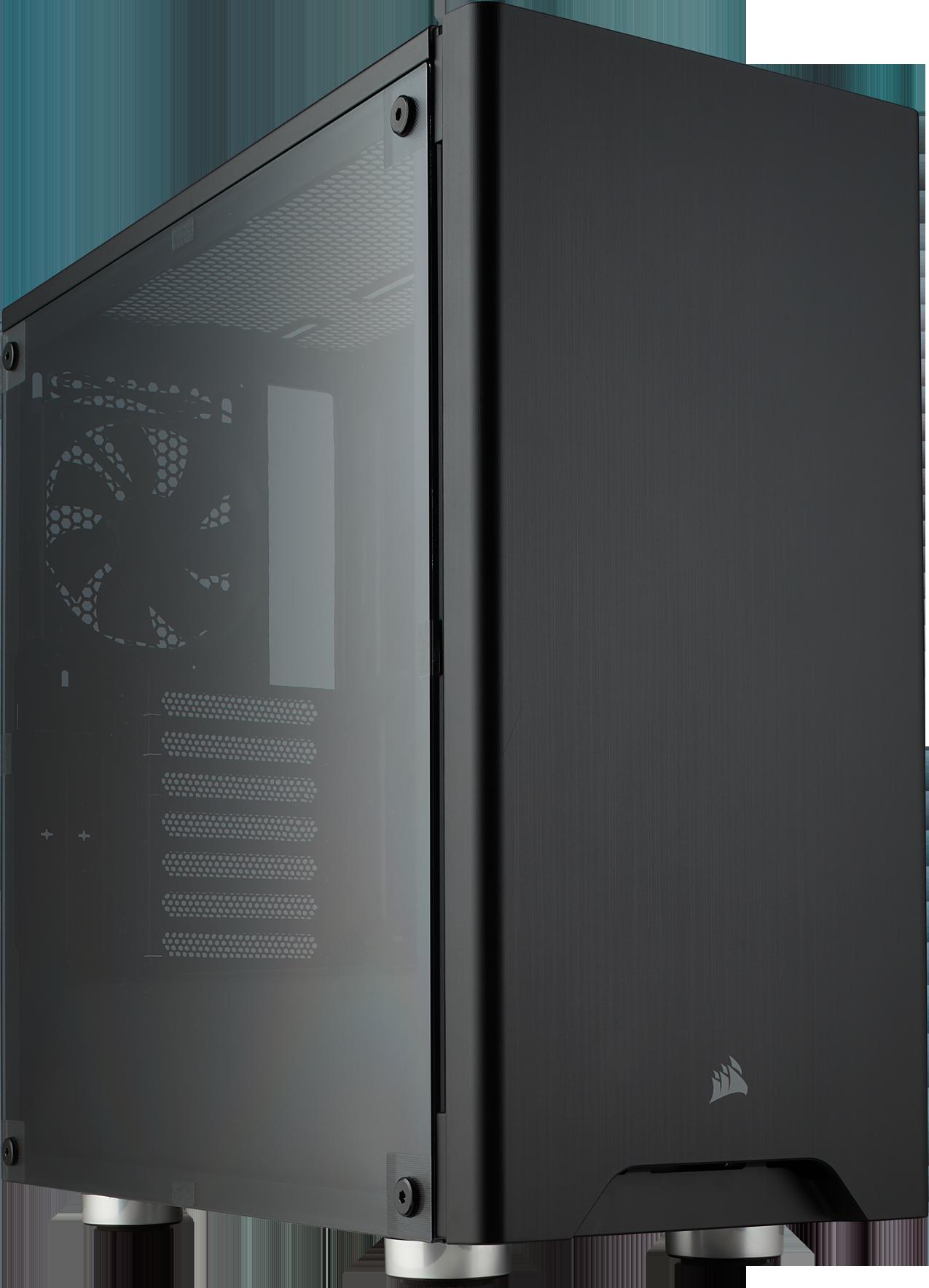 Carbide 275R Acrylic- ATX - Noir - Avec fenêtre