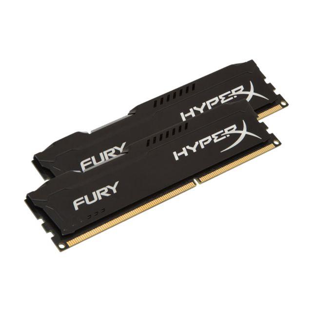 HYPERX Mémoire kit de 2 barrettes kingston DDR3 PC3-12800 - 2 x 8 Go 16 Go, 1600 MHZ - CAS 10 - Fury