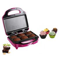 Domoclip - Appareil 2 en 1 brownies et cupcakes