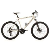 Ks Cycling - Vtt semi-rigide 26'' Gtz blanc Tc 56 cm