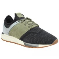 Baskets NEW BALANCE 247 Luxe velours toile Homme-42-Brown 4fjfG