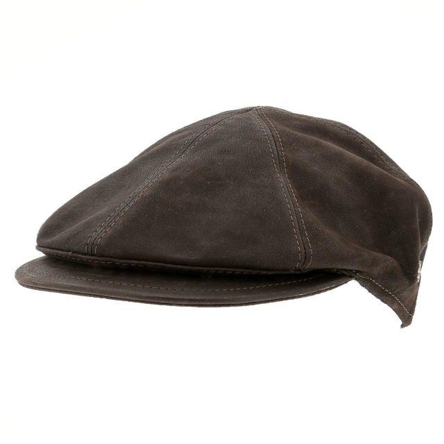 Herman Casquette type gadsby Usurper king brown cap Marron 16289