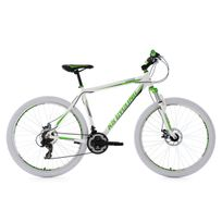 Ks Cycling - Vtt semi rigide 27,5'' Compound blanc-vert Tc 51 cm