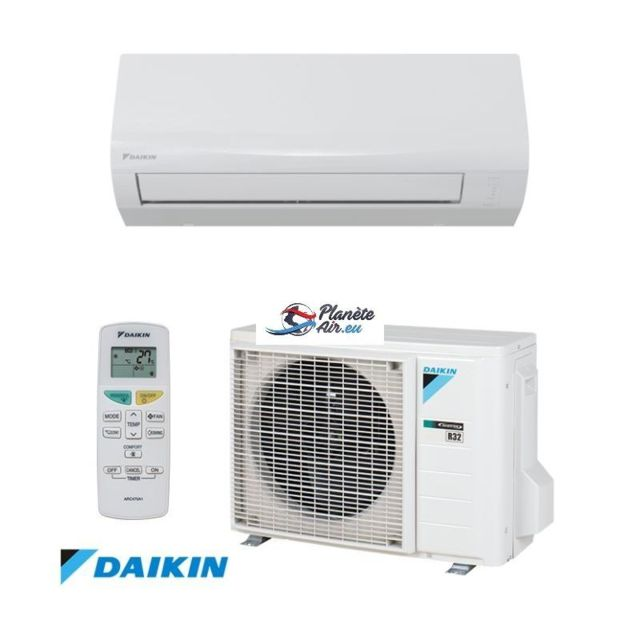 daikin sensira 2018 ftxf35a rxf35a 3500w clim inverter a pas cher achat vente. Black Bedroom Furniture Sets. Home Design Ideas