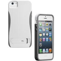 Case Mate - Coque Case-Mate Pop pour Apple iPhone 5 Blanc Gris