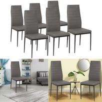 Lot de 6 chaises - Achat Lot de 6 chaises pas cher - Rue du Commerce