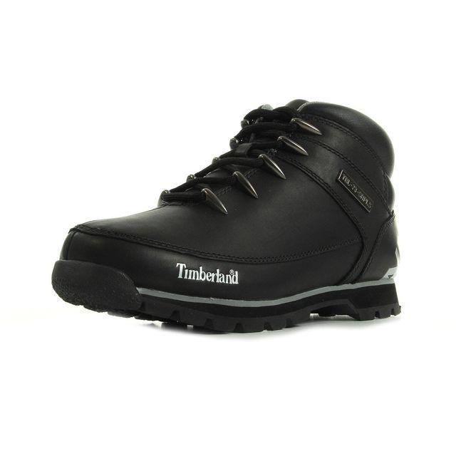 Timberland - Euro Sprint Hiker Black Reflective