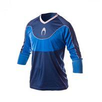 Ho Soccer - Maillot Jersey Impulse 3/4 Navy-Blue-Grey Taille S