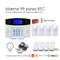 SecuriteGOODdeal - Alarme sans Fil de 99 zones Xl Box