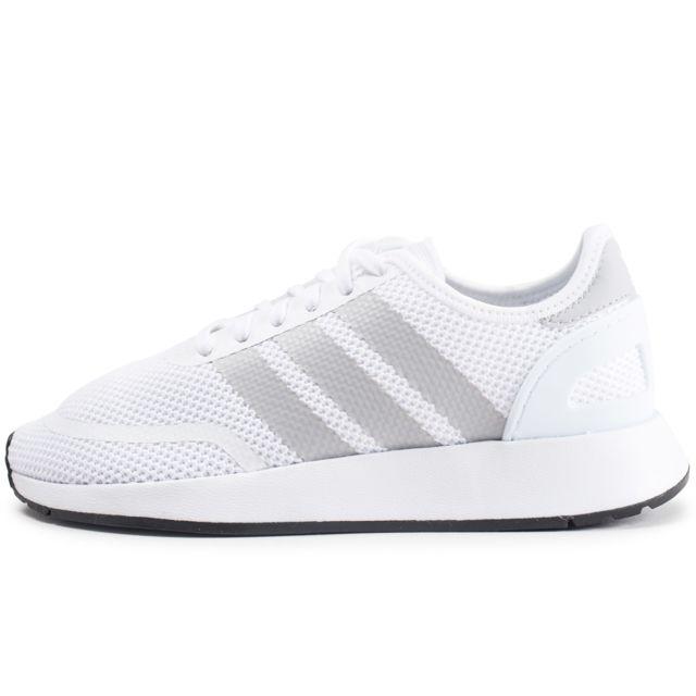 best sneakers b53c5 34176 Adidas - N-5923 Blanche Et Grise Junior