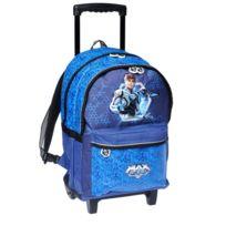 Max Steel - Sac à roulettes Bleu 45 Cm Haut de gamme