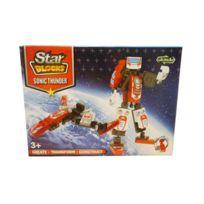 Jja - Robot transformer - Star blocks rouge