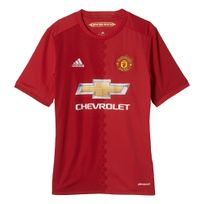cheaper b115e 785b2 Adidas performance - Manchester United Fc Home Replica Rouge Maillot Club  Enfant Football