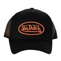 Vondutch - Casquette Von Dutch Matt 01 Black Orange