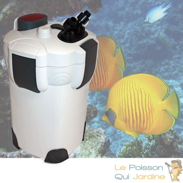 Aqua Occaz Filtre Externe 1400 l/h pour aquariums de 300 à 500 litres
