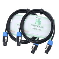 Pronomic - Stage Boxsp2-2.5 Câble Enceintes 2,5 m 2x Set de 2,5 mm