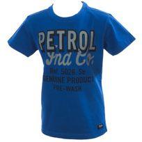 Petrol Industries - Tee shirt manches courtes Ts mc federal blue jr Bleu 21315