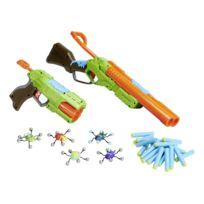 RUE DU COMMERCE - Combo set avec 2 pistolets à fléchettes - 4804