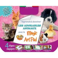 No Name - Magic Sticky Art Pad Animaux Domestique Avec 4 Stylos
