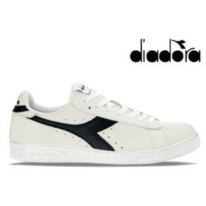 Diadora GAME L LOW Blanc / Bleu ODYz4Xk9