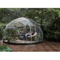 GARDEN IGLOO - Abri de jardin en forme d'Igloo - PVC - 10 m²