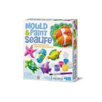 4M - Kit de moulage Plâtre : Vie sous-marine
