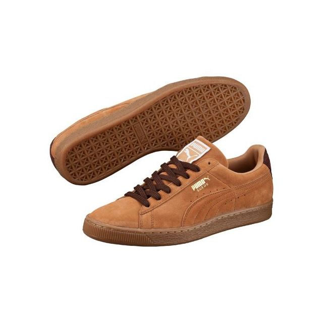 Chaussures Sandstorm Suede Semelle Pas Puma Cher Beige Brune N8wmn0v