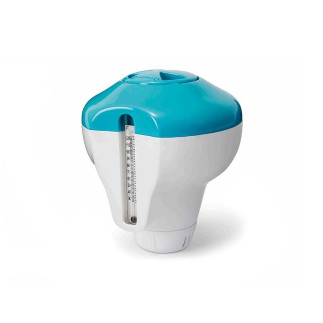 INTEX - Diffuseur de chlore flottant avec thermomètre