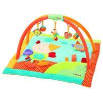 Babysun Nursery - Tapis D'EVEIL À Arceaux Oiseau Multicolore