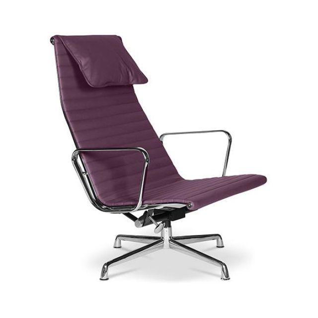 Privatefloor de Simili Cuir Chaise T24 bureau Mauve vOynwm0PN8