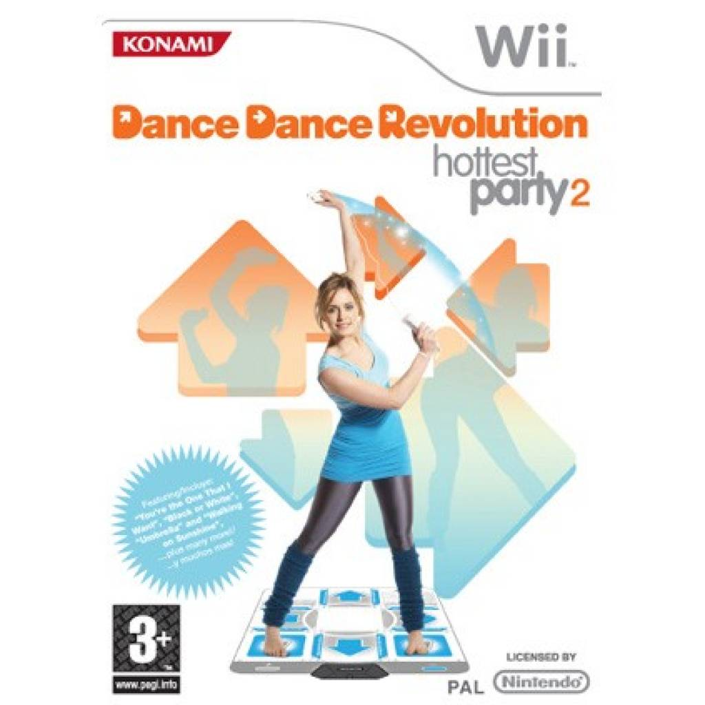 Dance Revolution Hotest Party 2- Wii