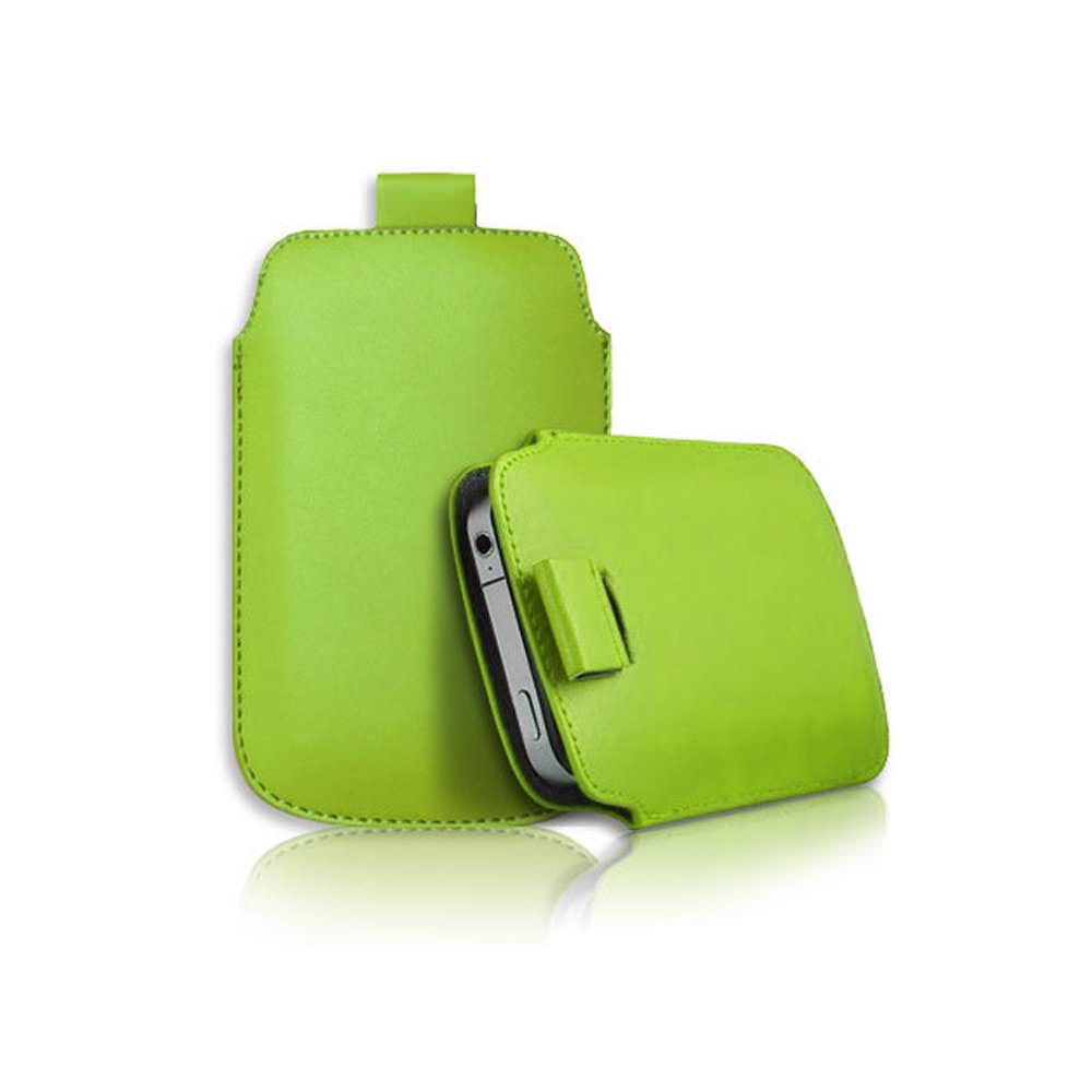 Lapinette - Housse Pochette Compatible Blackberry Q10 - Vert