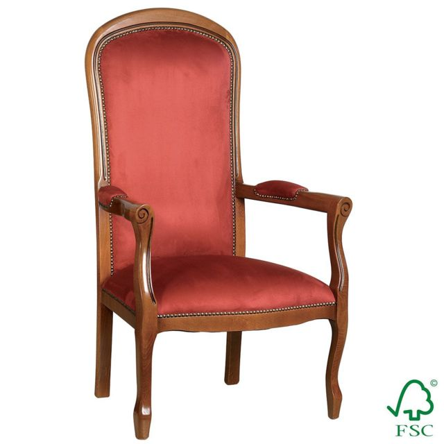 Altobuy Valicia - Fauteuil Rouge