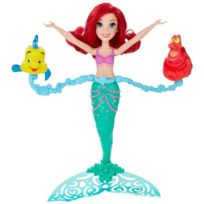 Hasbro - Poupée Disney Princesses : Ariel ballet aquatique