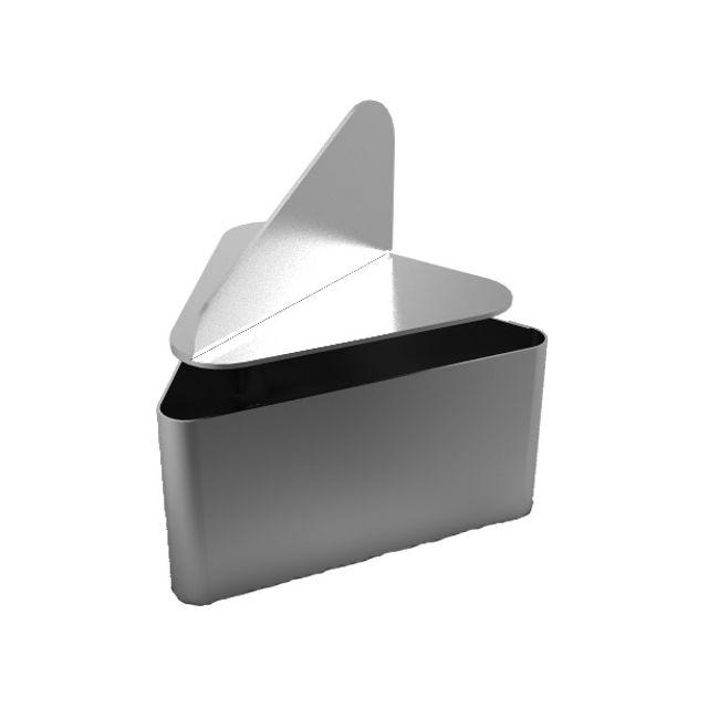 Guery 6 cadres triangle et poussoir 8.5 x 8.5 cm
