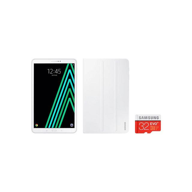"""Samsung - Galaxy Tab A - 10,1"""" - 16 Go - Blanc"""