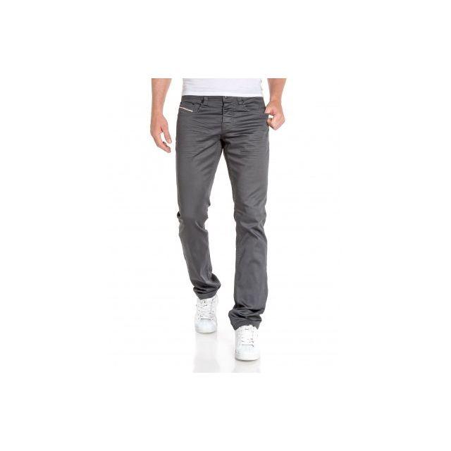 BLZ Jeans - Jean homme gris luisant coupe droite - pas cher Achat ... 674d79469b3a