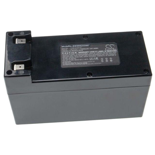 25.2V L100 Deluxe Batterie Li-ION INTENSILO 9000mAh L100 Evolution pour Tondeuse Robot Ambrogio L100 L200 Basic Remplace: Zucchetti CS-C0106-1.